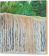 Jagala Waterfalls  Wood Print