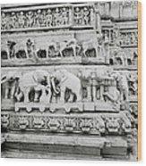 Jagdish Temple Sculpture Wood Print