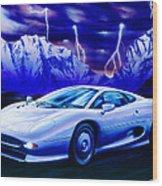 Jaguar 220 Wood Print