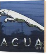 A Gift For Dads And Jaguar Fans Wood Print