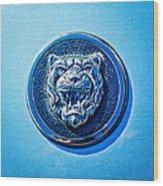 Jaguar Emblem -0056c Wood Print