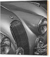 Jaguar Xk 120 Wood Print
