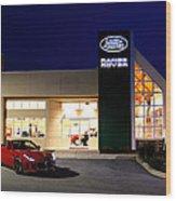 Jaguar Land Rover Harrisburg At Dark Wood Print
