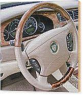 Jaguar S Type Interior Wood Print