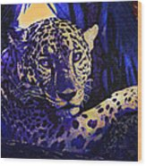 Jaguar- The Spirit Of Belize Wood Print