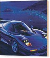 Jaguar Xjr-15 Wood Print