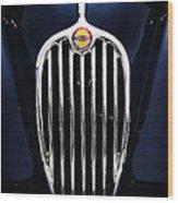 Jaguar Xk140 Grille Wood Print
