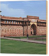Jahangir Palace Red Fort Agra Wood Print