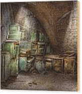 Jail - Eastern State Penitentiary - Cabinet Members  Wood Print