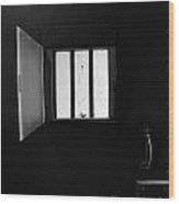 Jail Wood Print