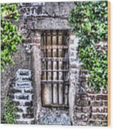 Jail Room Window Wood Print