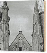Jakarta Cathedral  Wood Print