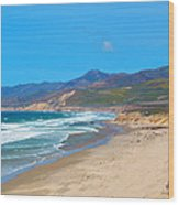 Jalama Beach Santa Barbara County California Wood Print