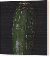 Jalapeno Wood Print