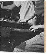 Jam Band Wood Print