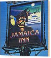 Jamaica Inn On Bodmin Moor Wood Print