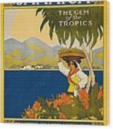 Jamaica The Gem Of The Tropics Wood Print