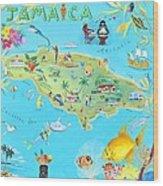 Jamaica Wood Print