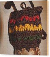 Jamaican Coconut And Crochet Shoulder Bag Wood Print