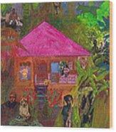 Jamaican Holiday Wood Print