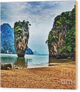 James Bond Island Wood Print