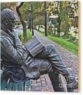 James Bradley Statue 9882 Wood Print