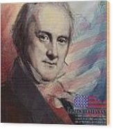 James Buchanan Wood Print