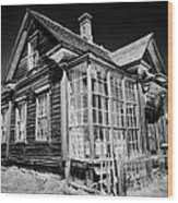 James Cain House Wood Print
