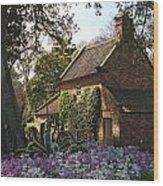 James Cook's Cottage Wood Print