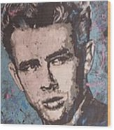 James Dean Blues Wood Print by Eric Dee