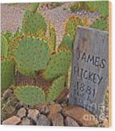 James Hickey Shot  Wood Print