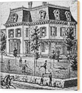 James Holly Residence Wood Print