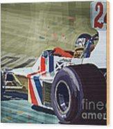 James Hunt 1975 Hesketh 308b Wood Print