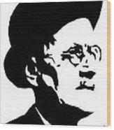 James Joyce Famous Irish Writer Wood Print