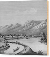 James River Canal, 1857 Wood Print