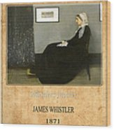James Whistler 1 Wood Print