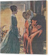 Jane And The Gipsy Wood Print