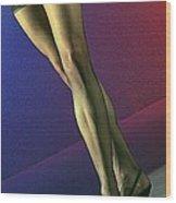 Jane Legs 1-1 Wood Print