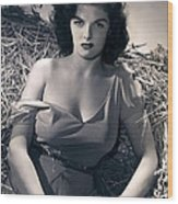 Jane Russell Wood Print