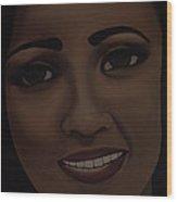 Janice 17 Wood Print