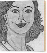 Janka Wood Print