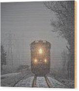 January 23. 2015 - Csx T103-2 Wood Print