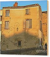 The Lady Of Limoux Wood Print