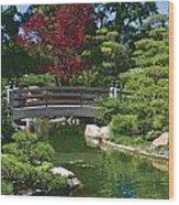 Japanese Bridge Wood Print