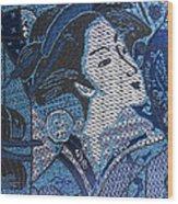 Japanese Lady Wood Print