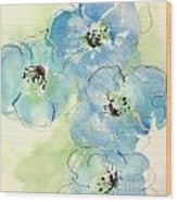 Japanese Quince 1 Wood Print