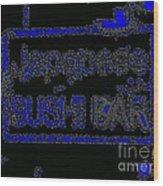 Japanese Sushi Bar # 57 Wood Print