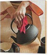 Japanese Tea Ceremony Wood Print