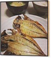 #japan#food Wood Print