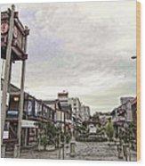 Japantown - Nihon Machi - San Francisco Wood Print